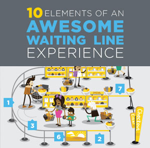 INFOGRAPHIC: 10 Elements of an Awesome Waiting Line Experience