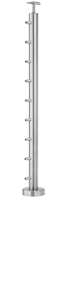 C.A.T. Round Cable Railing Posts